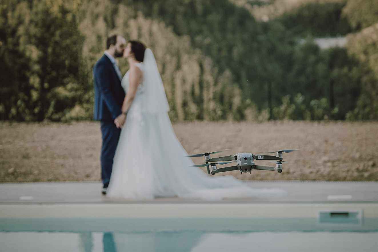 realizzare video matrimonio drone
